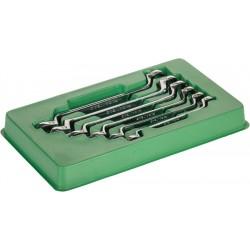 Set 6 chiavi doppie con cricco reversibile UNIVERSALE a 90 denti